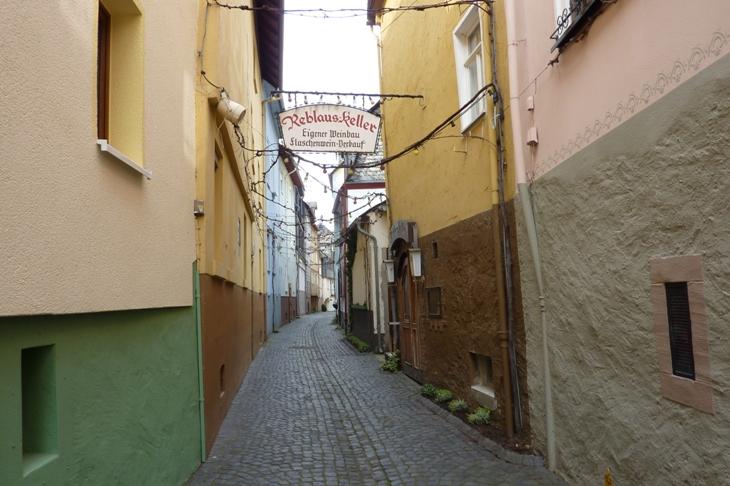 Altstadtgasse in Sankt Goarshausen